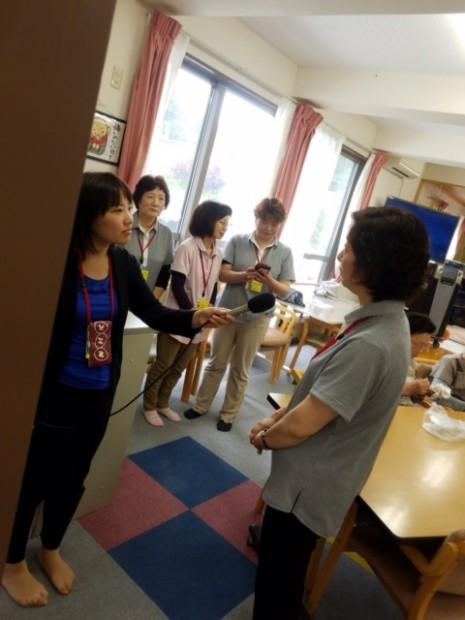 NHK取材スタッフ@ぬくっこハウス.