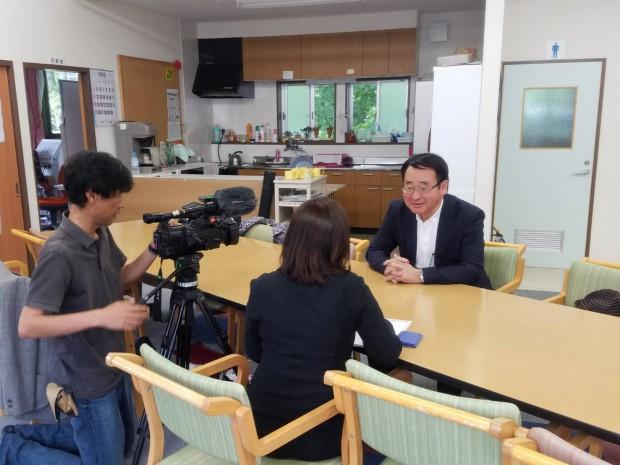 NHKテレビインタビュー June 25,2017